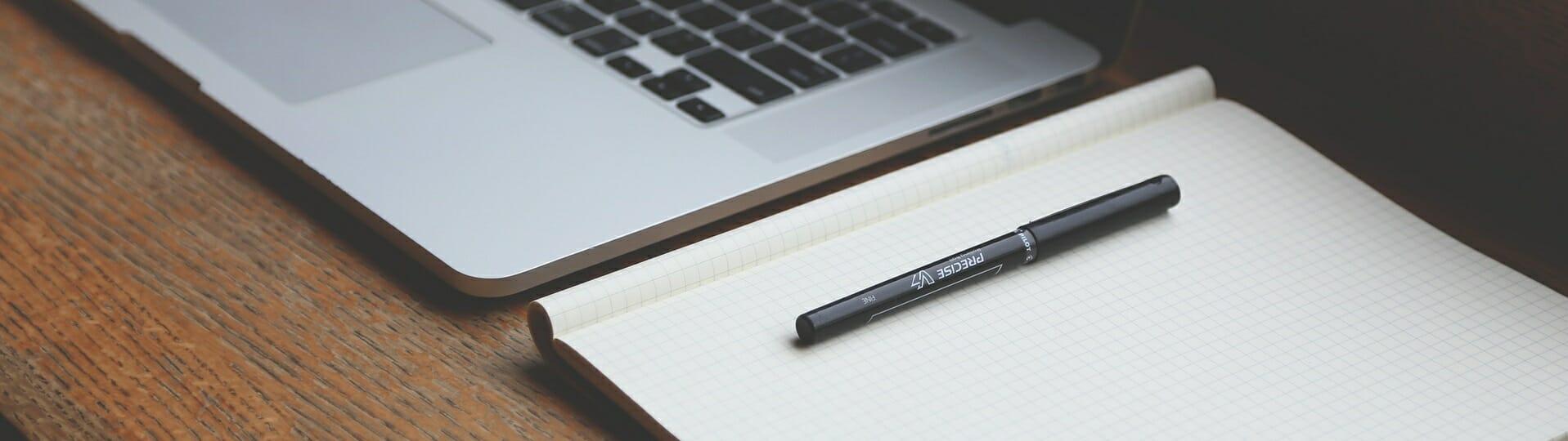 Notatnik i laptop